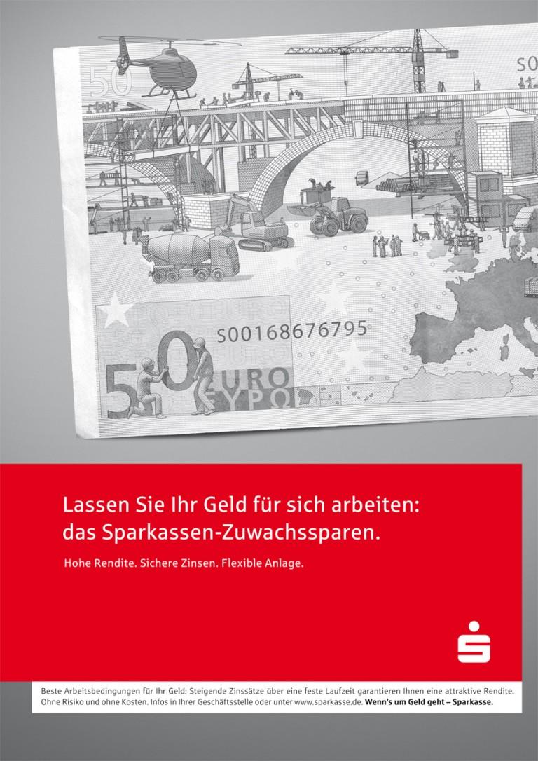 Dirk Rittberger Portfolio Sparkasse Poster