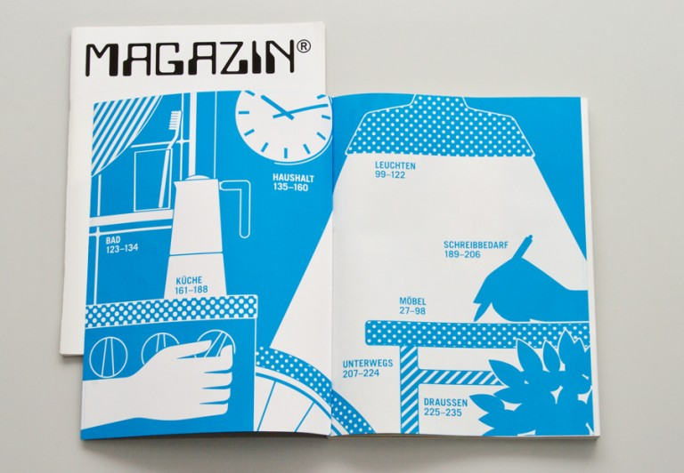 Icons and Designs for MAGAZIN-catalogue