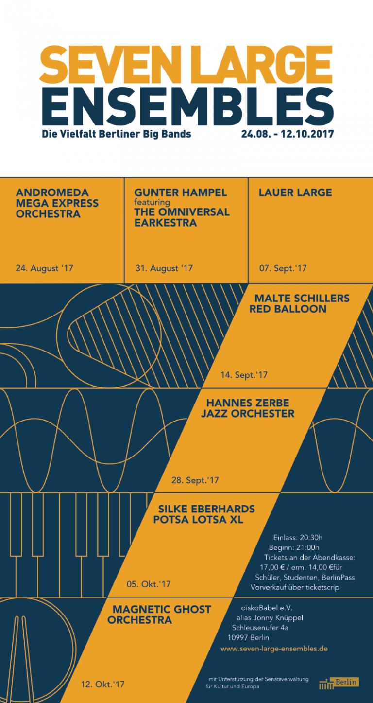 Dirk Rittberger Portfolio Jazz Poster